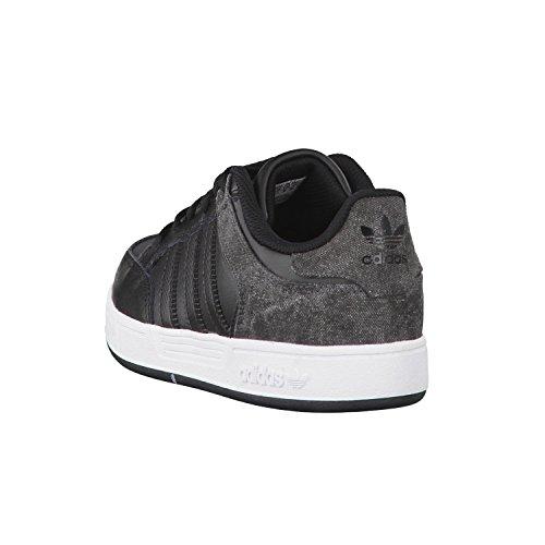 adidas Unisex Baby Varial J Skaterschuhe Schwarz / Weiß / Grau (Negbas / Ftwbla / Grpudg)