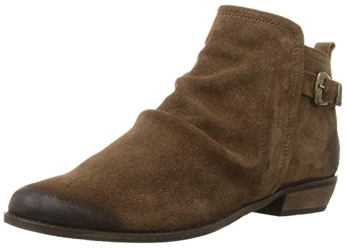 Naughty Monkey Women's Buckle Me up Ankle Bootie Tan
