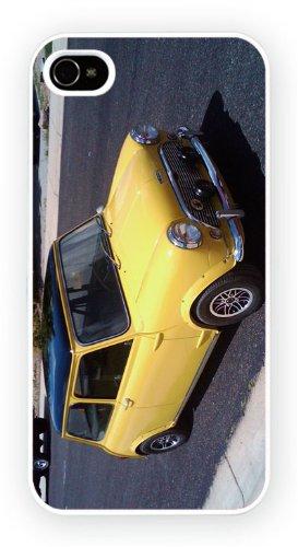 Austin Mini Yellow, iPhone 6, Etui de téléphone mobile - encre brillant impression