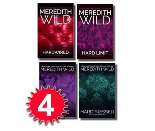The Hacker Series 4 Books Set: Hardwired, Hardpressed, Hardline, Hard Limit