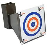 Air Rifle Trumpet Steel Target Holder Pellet Trap Shooting Airsoft BB 14x14cm