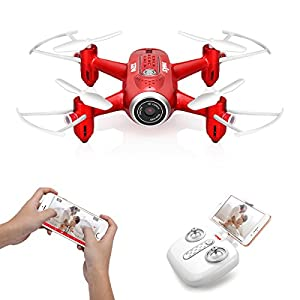 Syma Mini RC Drone 6-Axis Gyro Remote Control Nano Quadcopter Kids Beginners from Syma