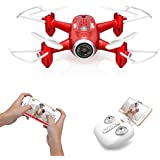 DoDoeleph FPV RC Drone Mini Drone X22W Nano Quad Copter WiFi Pocket Drones HD Camera RTF 4 Channel Headless Mode Remote Control Altitude Hold Quadcopter