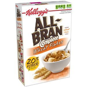 All-bran All Bran Cereal Complete Wheat Boxes, 18 OZ (Pack of 14)