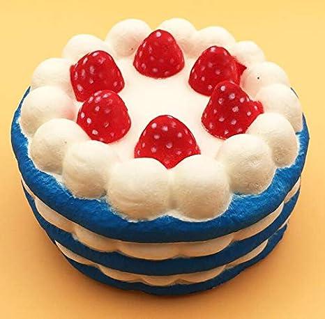 Amazon.com: 1 lote de moldes de fresa para tartas, aroma a ...