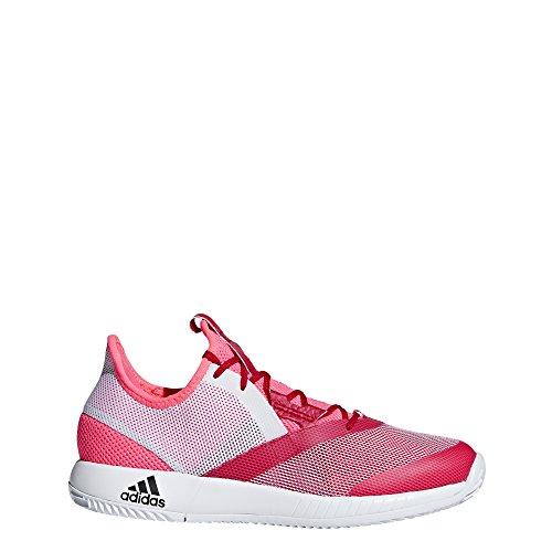 blanc Rouge rouge 43 Chaussures W Defiant Adizero Bounce Flash De 3 Femme Fonc Blanc Eu Tennis Adidas qwg7p6x