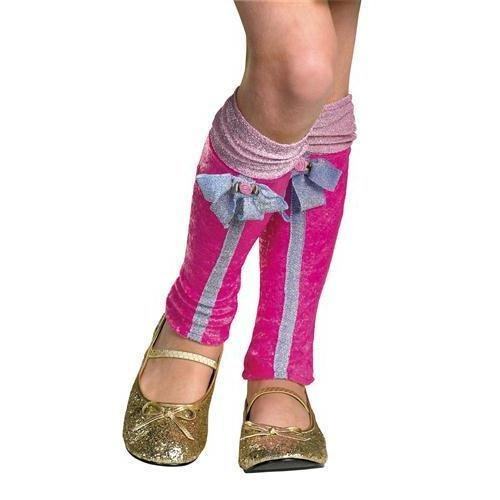 (Winx Club Flora Leg Covers, Pink/Purple, One)