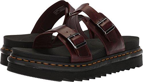 Dr. Martens Unisex-Adult Myles Slide Sandal, Size: 9 D(M) US / 8 F(M) UK / 10 B(M) US, Color: Charro Brando]()