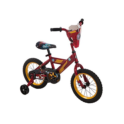 Boys 14 inch Huffy Iron Man Titan Hero (Ironman Bicycle Helmet)