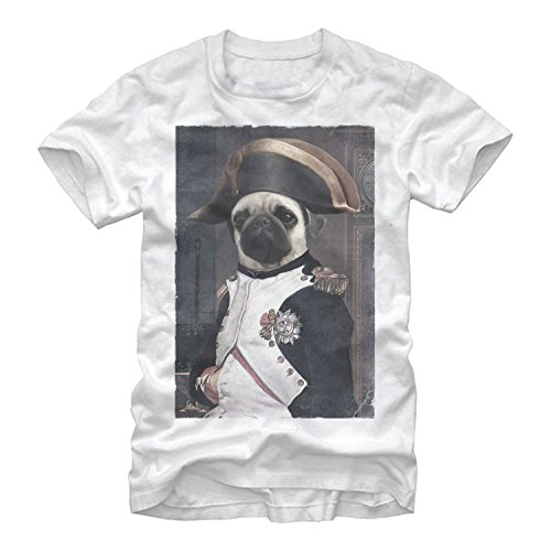 Lost Gods Napoleon Pug Mens XL Graphic T Shirt