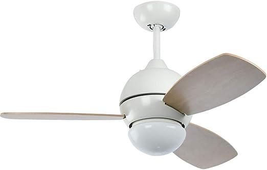 Ceiling fan light Ventilador de Techo Blanco con luz y Control ...