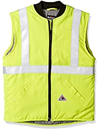 Bulwark FR Hi-Vis Insulated Vest with Reflective Trim - 7oz - CAT4