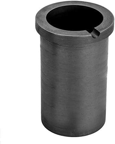Nrpfell Hoch Reiner Schmelztiegel Aus 2 Kg Graphit Gute W?rme übertragungs Leistung für Hoch Temperatur Schmelz Werkzeuge Aus Gold und Silber