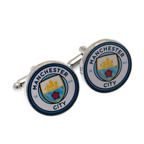 Manchester City F.C. Cufflinks Official Merchandise by Manchester City F.C.