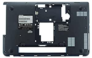 Toshiba V000320280 Bottom case refacción para notebook - Componente para ordenador portátil (Bottom case, Toshiba, Negro, Satellite C50, C55, C55D)