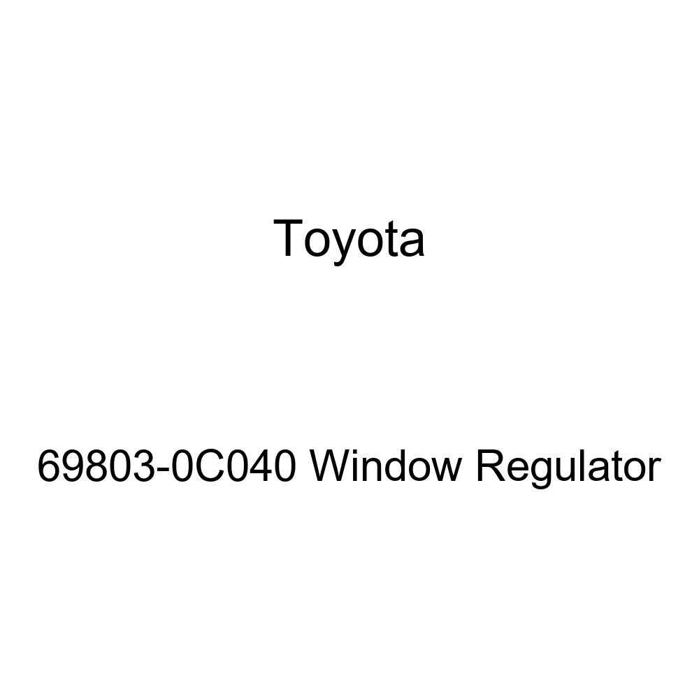 Toyota 69803-0C040 Window Regulator