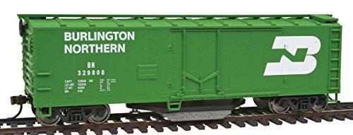 Walthers Trainline 40' Plug-Door Track Cleaning Boxcar Burlington Northern 329808 ()