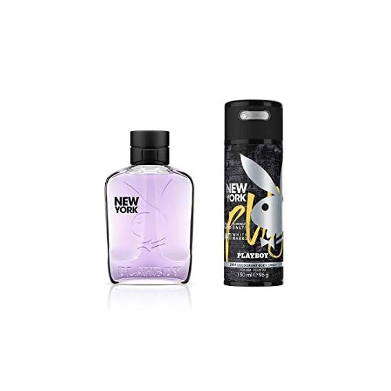 Playboy New York For Men Gift Set (EDT100ml+Deo150ml)