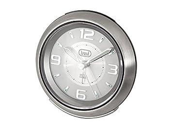 Trevi SL 3090 M Quartz table clock Acero inoxidable Alrededor - Relojes de mesa (1