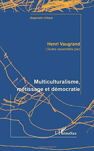 Multiculturalisme Metissage Et Democratie Diagonale Critique French Edition Vaugrand Henri 9782296963368 Amazon Com Books