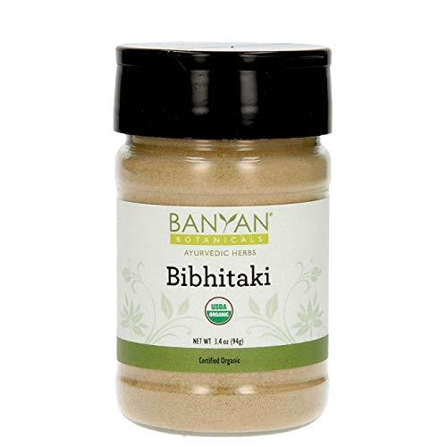 (Banyan Botanicals Bibhitaki Powder - Certified Organic, Spice Jar - Terminalia belerica - Detoxification and rejuvenation for)