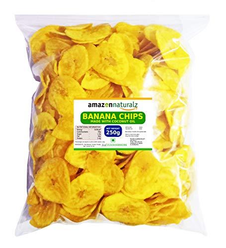 Amazon Naturalz Kerala Banana Chips Made with Coconut Oil (250 g) (B08B4D16G9) Amazon Price History, Amazon Price Tracker
