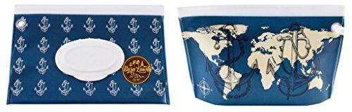 Flushable Moist Wipes Case (Anchors Away Wet Wipe Dispenser Case from Bara Lowki)