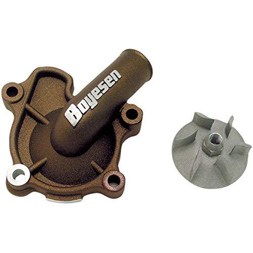 Boyesen Supercooler Water Pump Cover and Impeller Kit Magnesium - Fits: Honda CRF250X 2015-2017