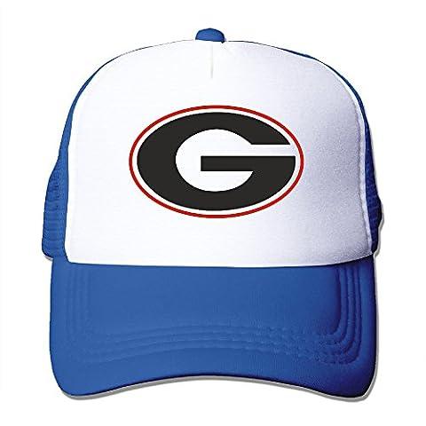 Georgia Bulldogs Uga Hairy Dawg Kirby Smart Outdoor Sports Baseball Trucker Mesh Hat (Georgia Blues Dawgs)
