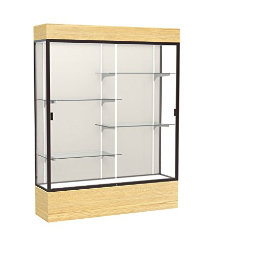 Waddell Reliant Lighted Vinyl Floor Display Case, 60