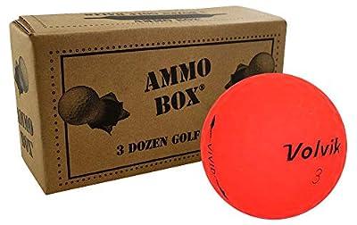 Volvik Vivid Mix Recycled Fair Golf Balls3-Dozen