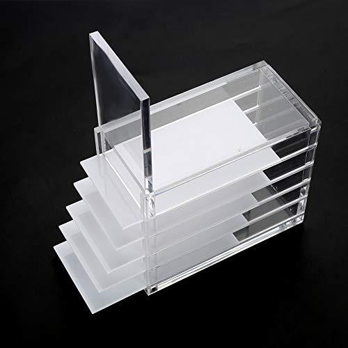 Acrylic Cosmetic Storage Makeup Organizer Clear Eyelash Storage Box Eyelashes Glue Pallet Holders 5 Layers Grafting Eyelash Extension Tool