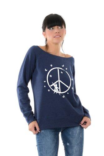 Peace Pixie 3elfen Roulé Col Bleu Bateau U De Dames YnPYv