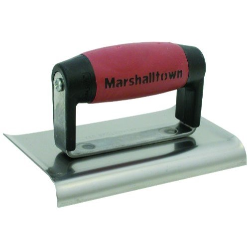 MARSHALLTOWN The Premier Line 138D 6-Inch by 4-Inch Edger with DuraSoft Handle