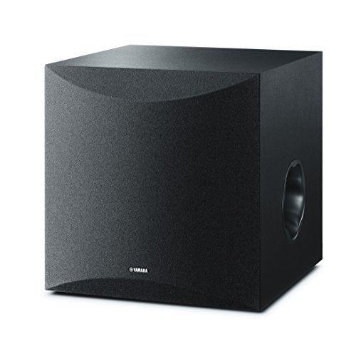 Yamaha 10″ 100W Powered Subwoofer – Black (NS-SW100BL)