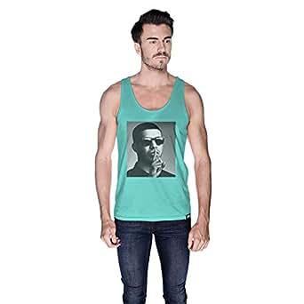Creo Drake Tank Top For Men - L, Green