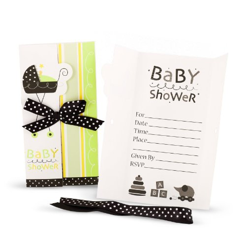 Stroller Fun Invitations with Ribbons (8 (Creative Pop Culture Halloween Costumes)