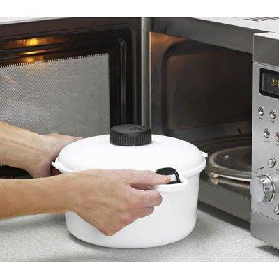 2,85 litros MicroMaster apta para microondas vapor olla a presión