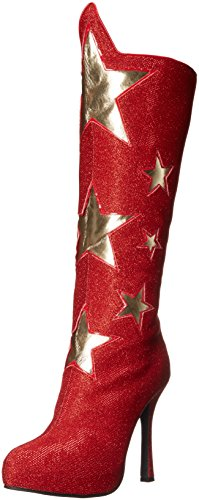 Ellie Shoes Women's 420-Hero Boot, Red, 8 M US -