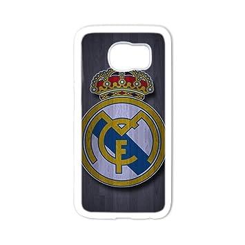 Real Madrid CF Carcasa Funda para Samsung Galaxy s6: Amazon ...