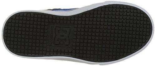 DC Shoes ADBS300260, Zapatillas Niños Negro (black/blue/grey)