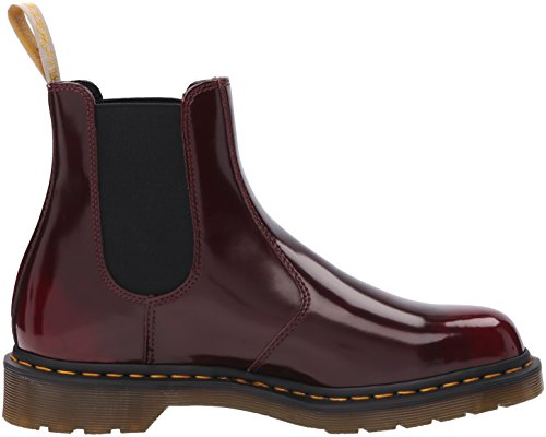 Red 600 Boot Brush Cherry Dr Cambridge Martens 2976 Unisex Cambridge Chelsea Red Brush x706YF