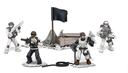 Mega Construx Call of Duty Arctic Troopers (Call Of Duty Mega Bloks Guns)