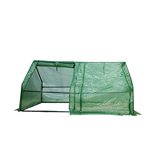 Abba Patio Walk-in Greenhouse Fully Enclosed Portable Greenhouse, 6'W x 3D x 3'H by Abba Patio
