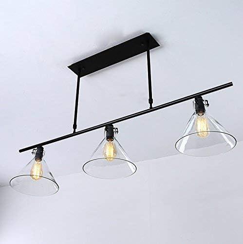 Creative Living Room Bar Lámpara de mesa Hierro Tres candelabros ...