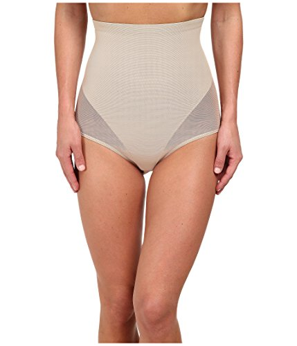 TC Fine Intimates Women's Hi-Waist Brief 4225, Nude, 2XL
