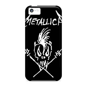Hot Snap-on Metallica Hard Cover Case/ Protective Case For Iphone 5c