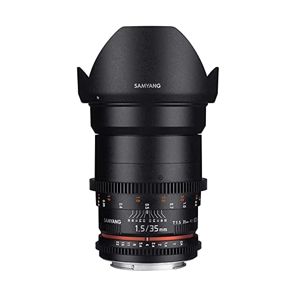 RetinaPix Samyang Brand Photography MF Lens 35MM T1.5 VDSLR II Canon