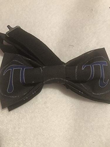 - Pi Day bow tie, math bow tie, science bow tie, pi day, pi bowtie, pi day accessory, pre-tied cotton with 18