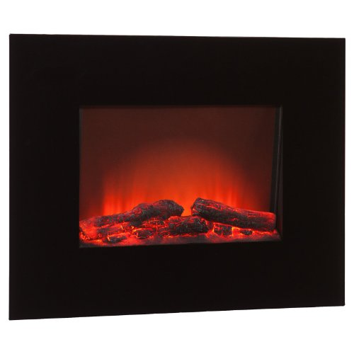 Southern Enterprises Onyx Wall Mount Electric Fireplace